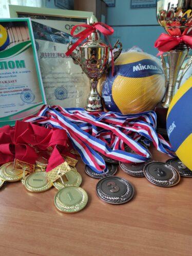 29.04.2021 г. Заняли 1- место по волейболу среди девочек в городской спартакиаде.